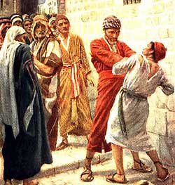 Parable of the Master and Unprofitable Servant, Luke 17:5-10